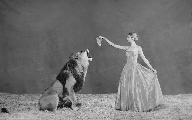 Lion Tamer by Tyler Shields