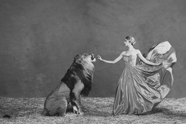 The Lion Queen by Tyler Shields
