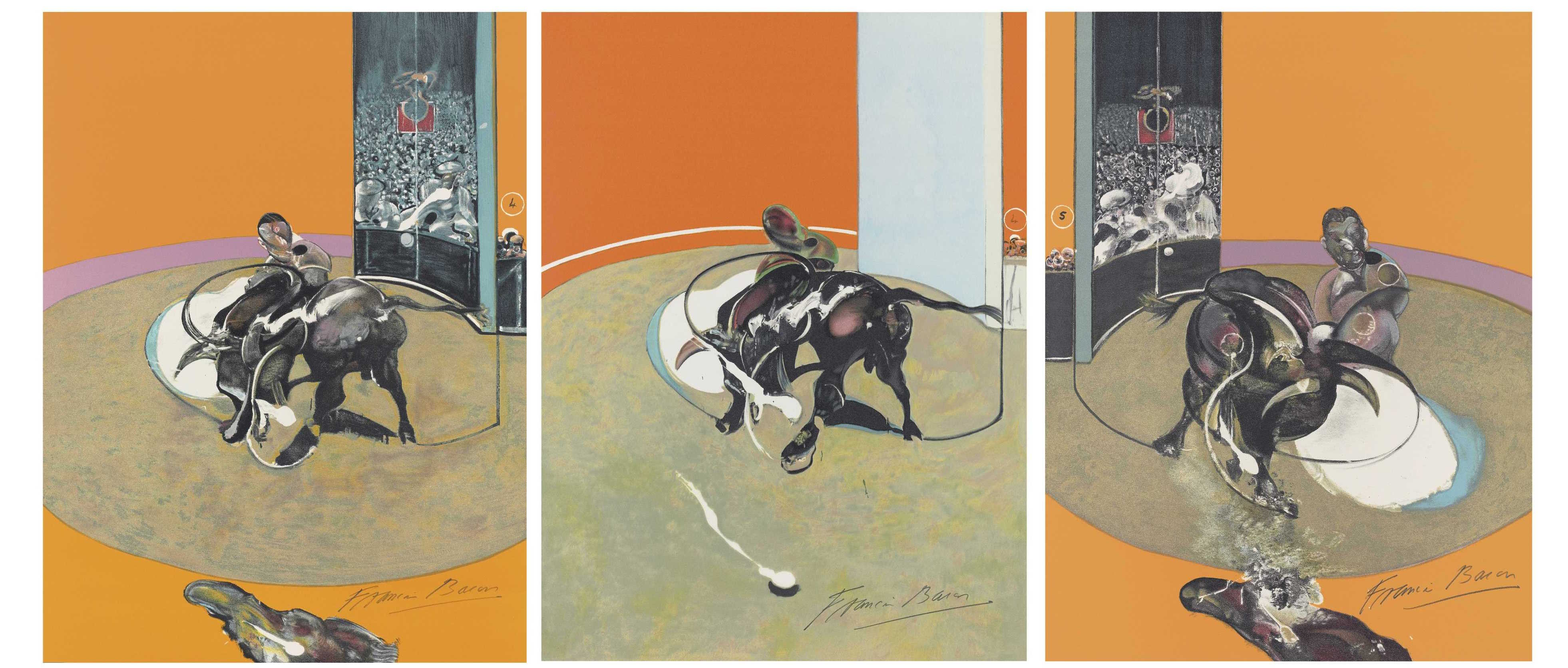 Mirroir de la Tauromachie by Francis Bacon