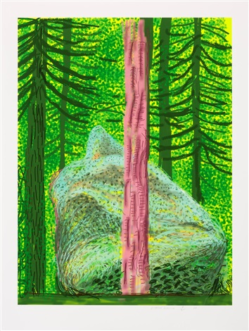 David Hockney Untitled No. 19, Yosemite Suite