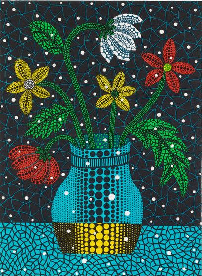Flowers 1996 by Yayoi Kusama