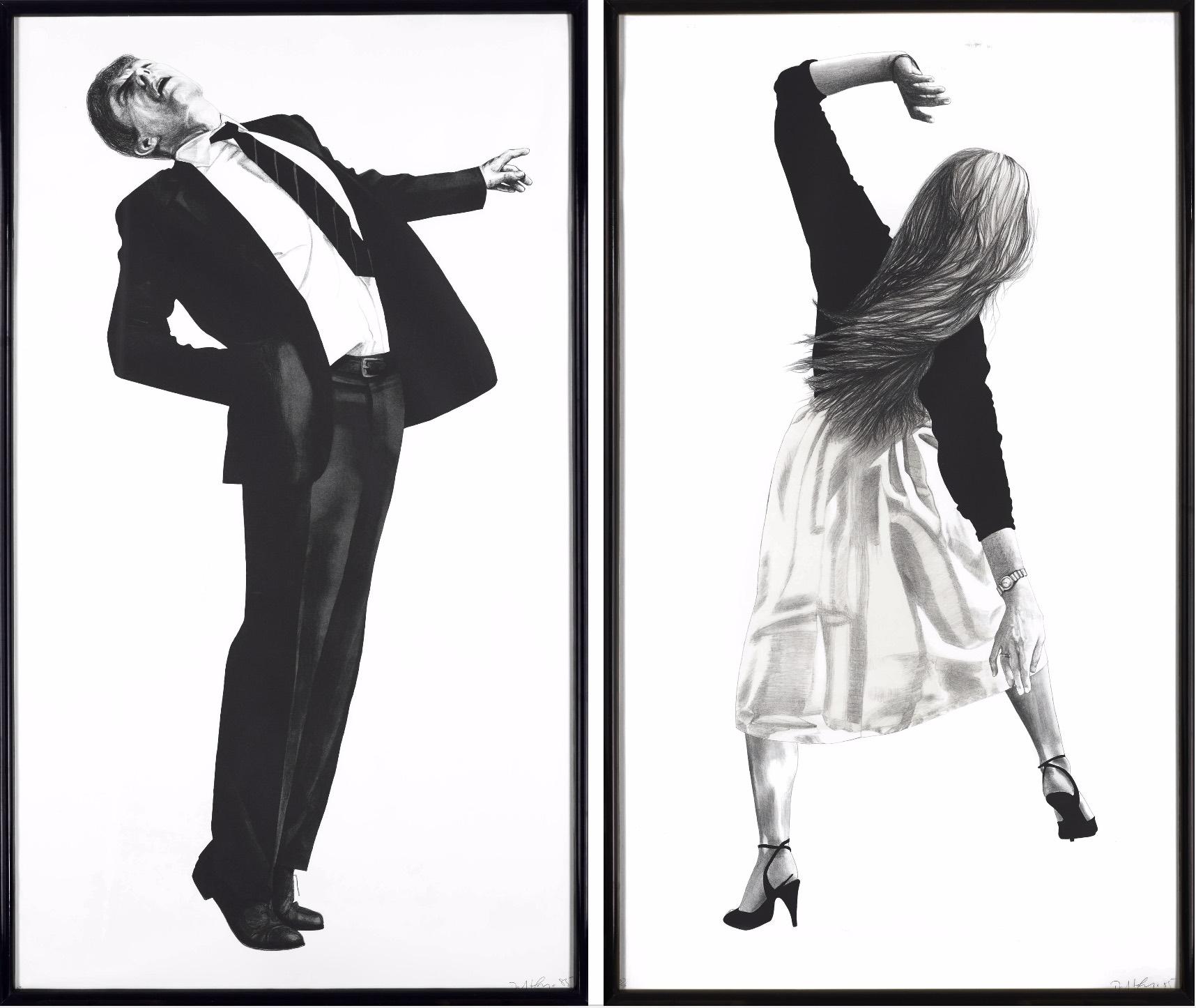 Anne & Edmund, 1985 by Robert Longo