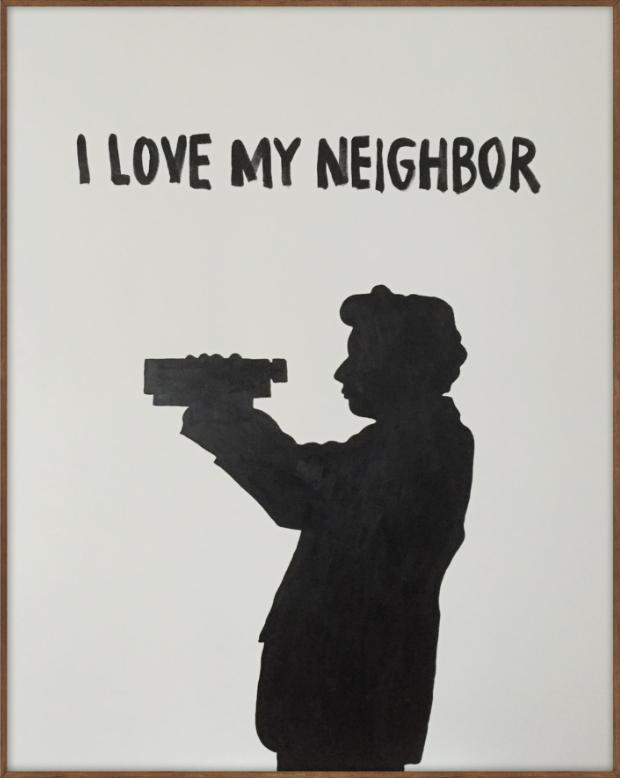 I Love My Neighbor by Johan Deckmann