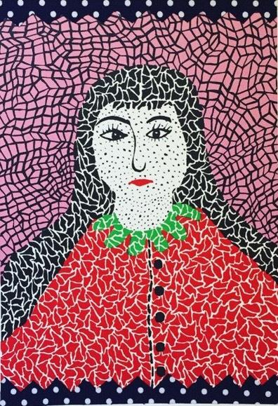 Self Portrait by Yayoi Kusama