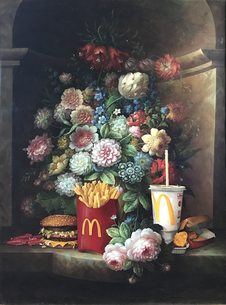 Calorie Composition I by Dave Pollot