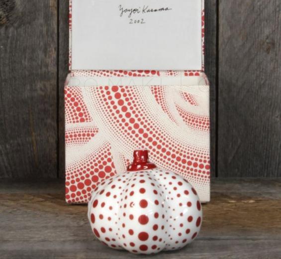 Pumpkin Ceramic by Yayoi Kusama