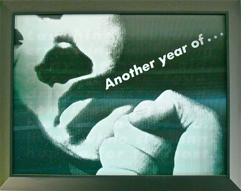 Barbara Kruger Untitled (Another Year)