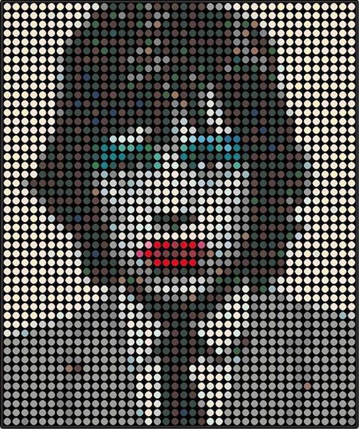 Mick Jagger by Dimitri Likissas