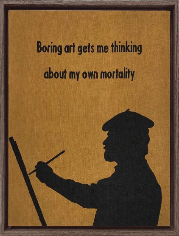 Boring Art by Johan Deckmann