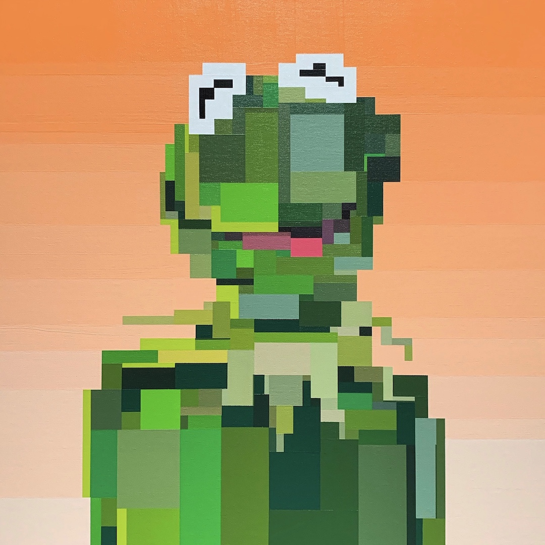 Kermit by Adam Lister