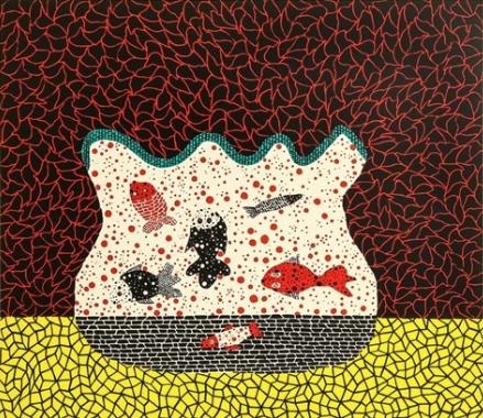 Goldfish Bowl by Yayoi Kusama