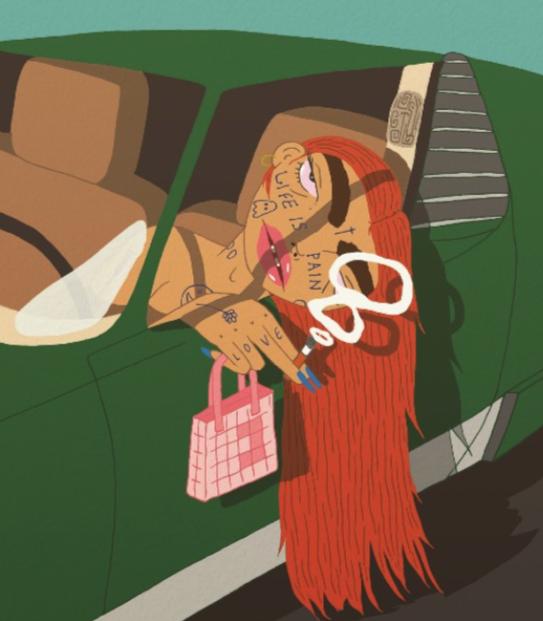 Backseat by Ben Evans