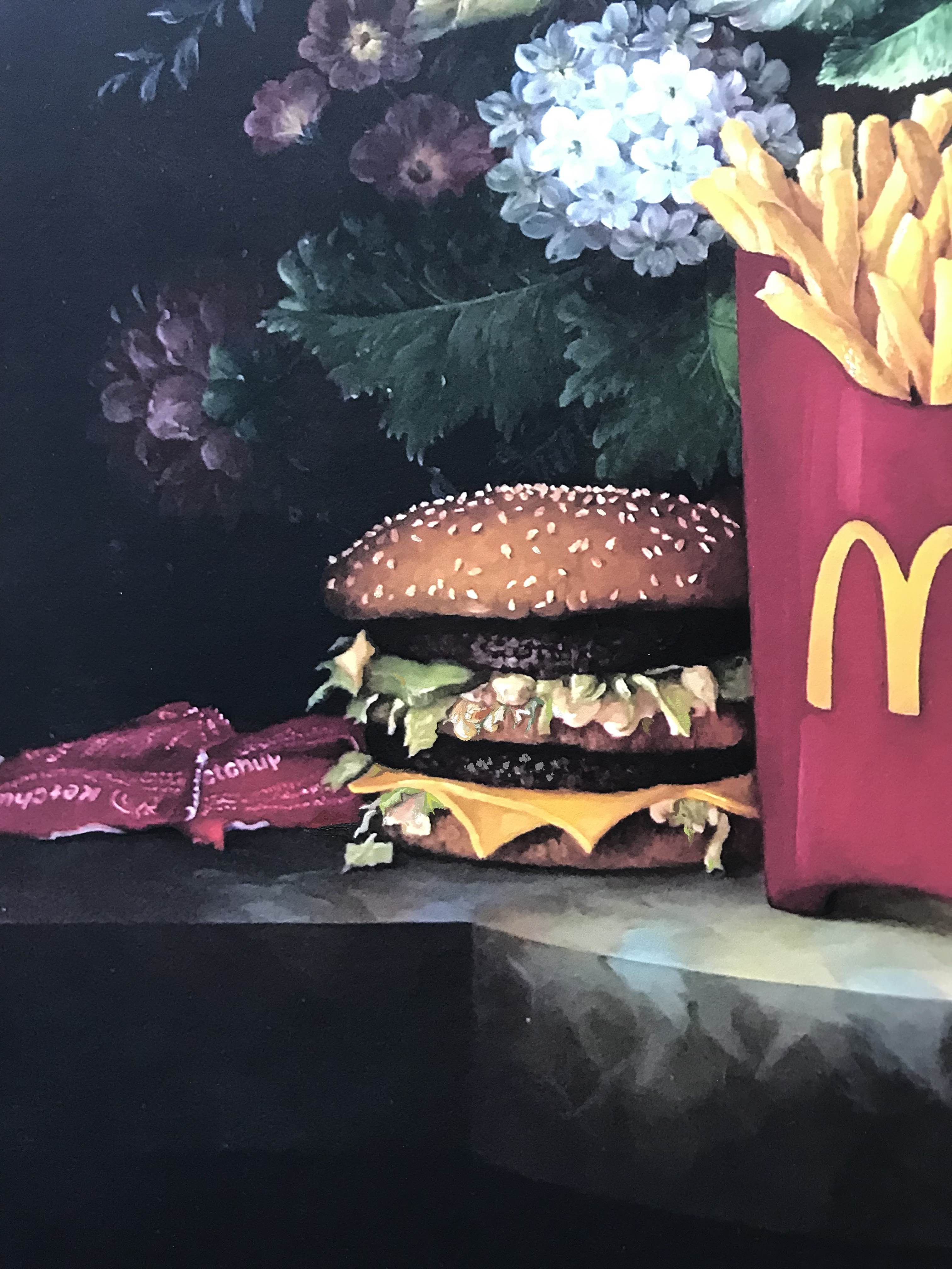 Calorie Composition I Hold the Onions, with Honey Mustard Sauce by Dave Pollot Detail 2