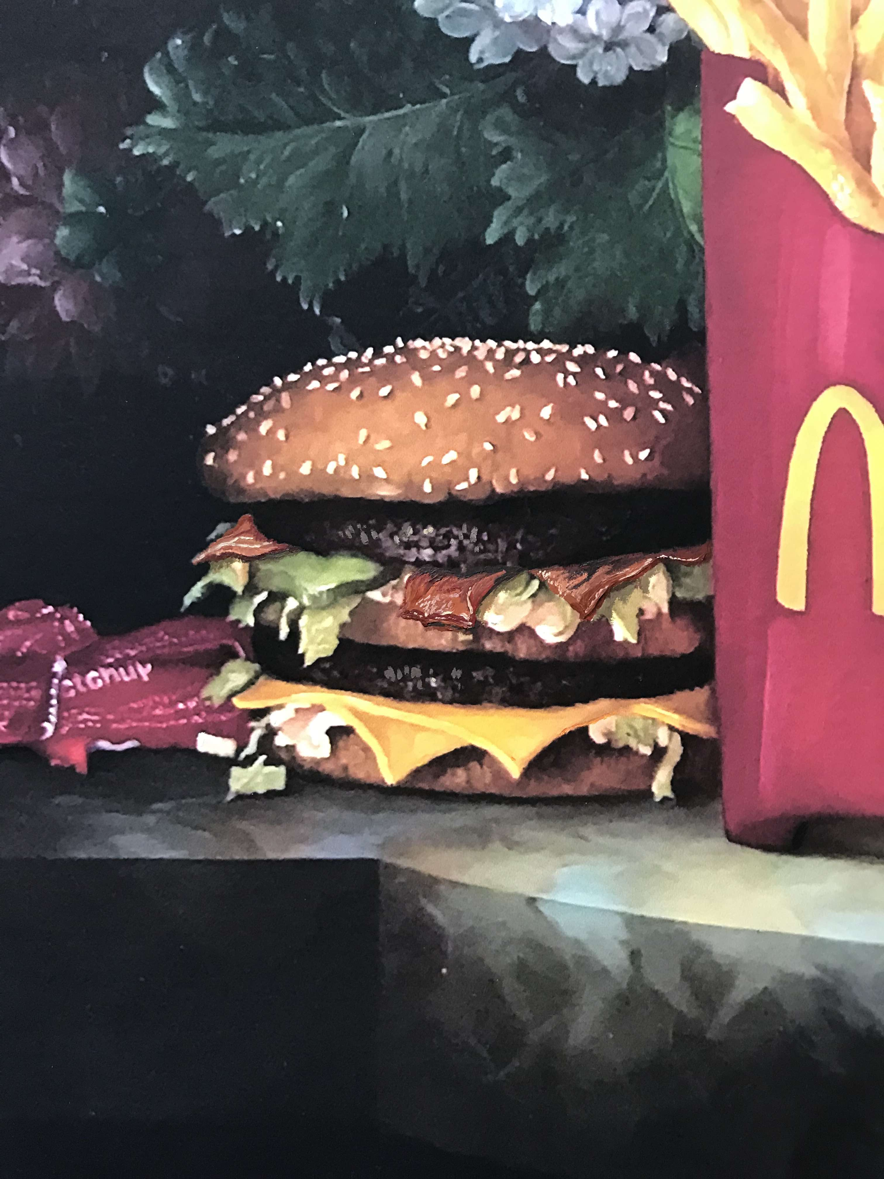 Calorie Composition I with Birthday Bacon by Dave Pollot detail 2