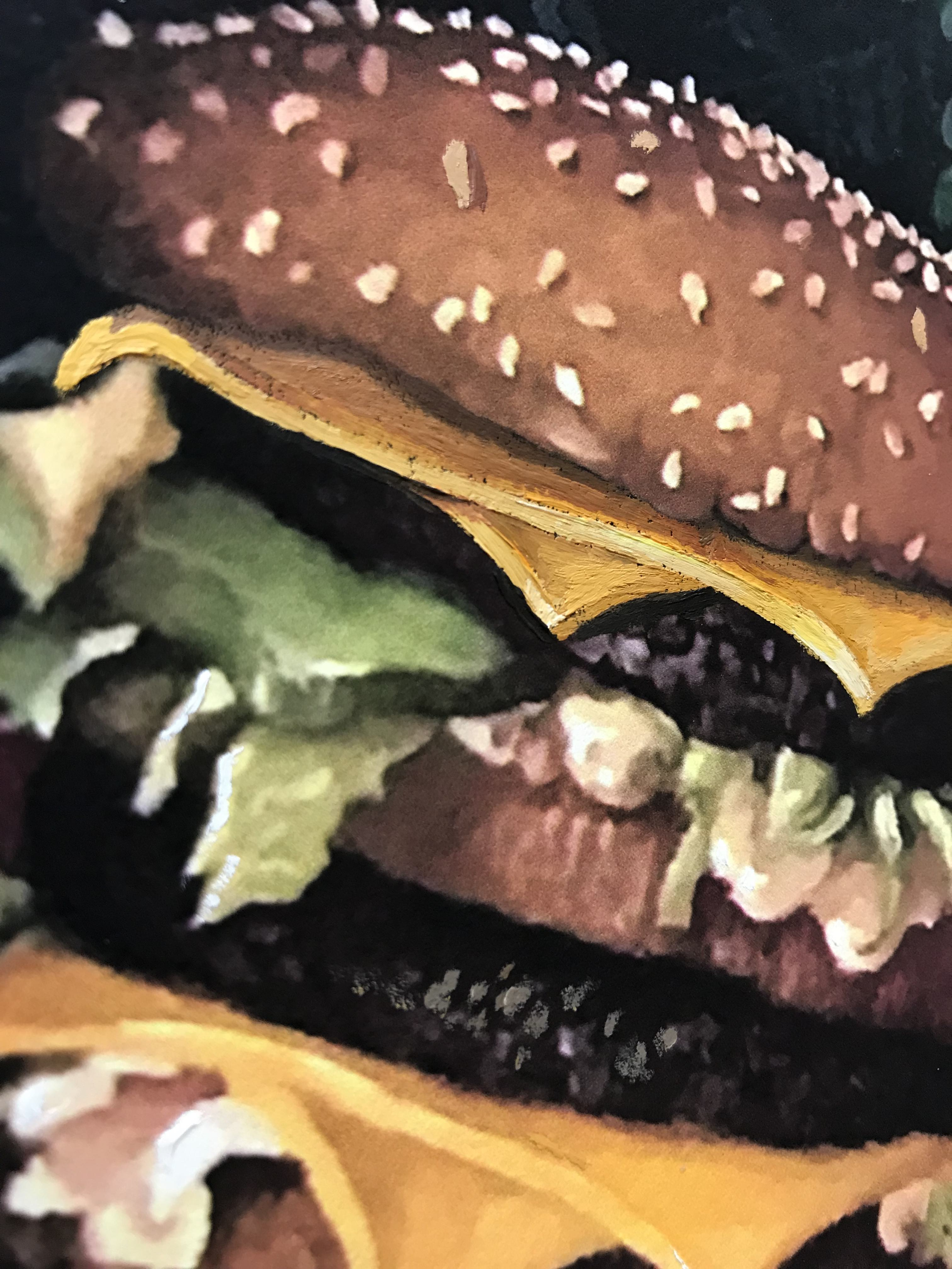 Calorie Composition I with Extra Cheese by Dave Pollot detail 2