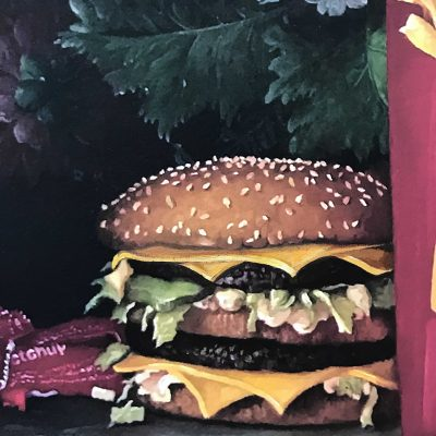 Calorie Composition I with Extra Cheese by Dave Pollot detail 4