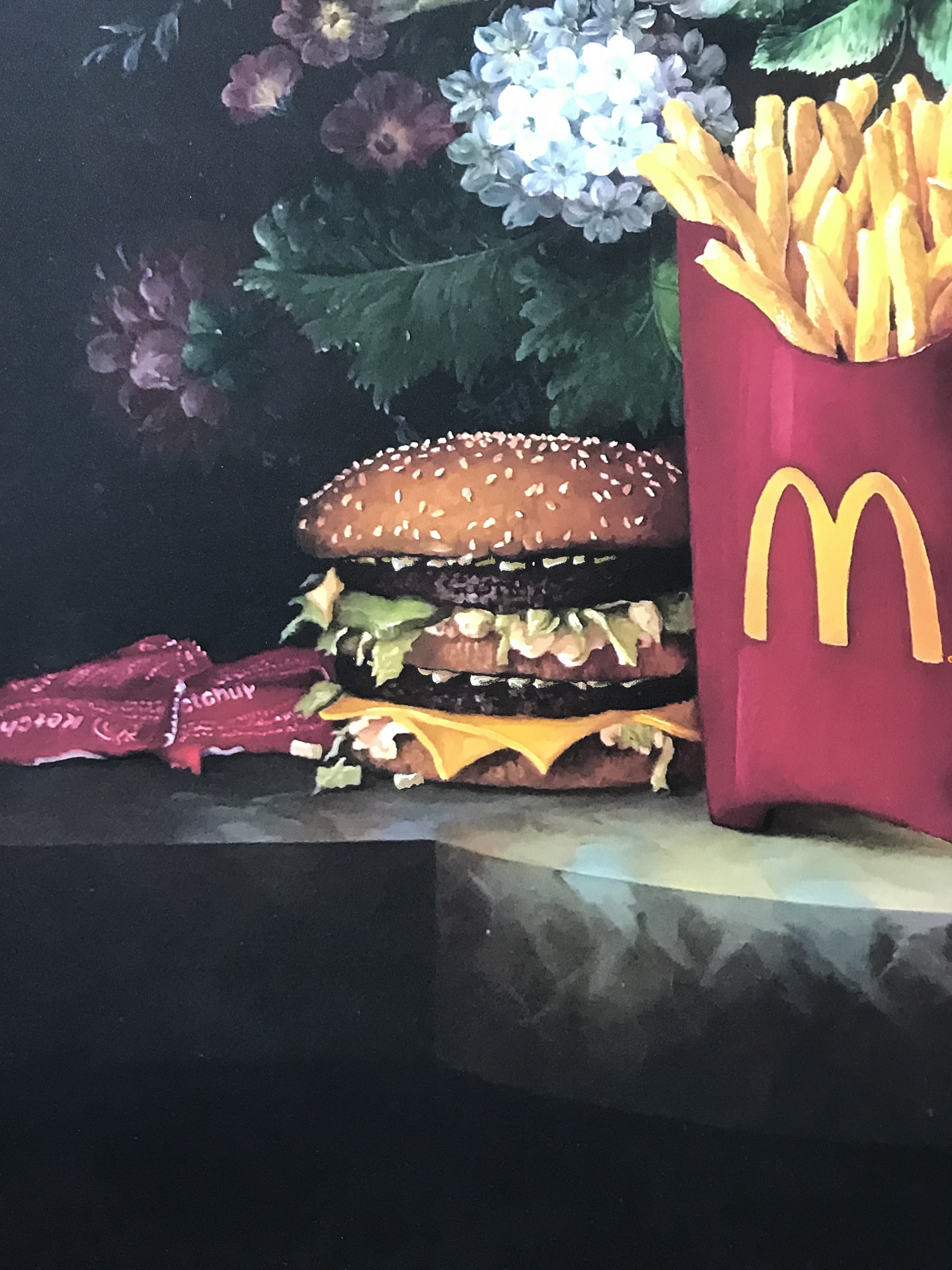 Calorie Composition I with Onions by Dave Pollot Detail 4
