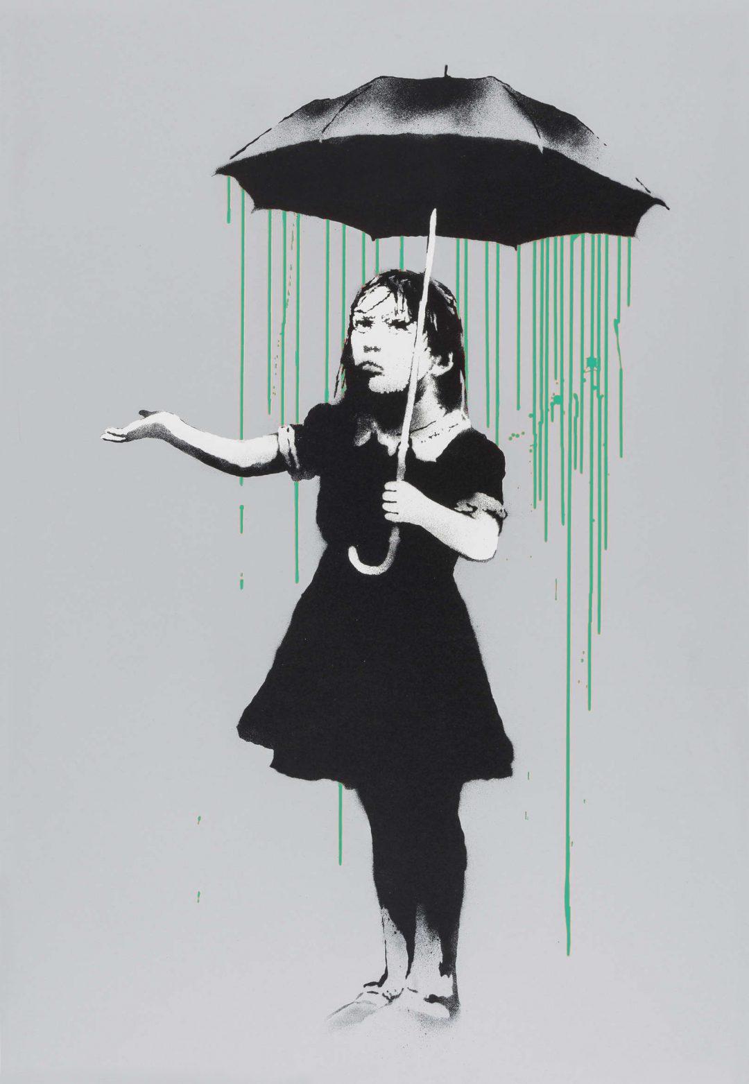 Nola (Pea Green) by Banksy
