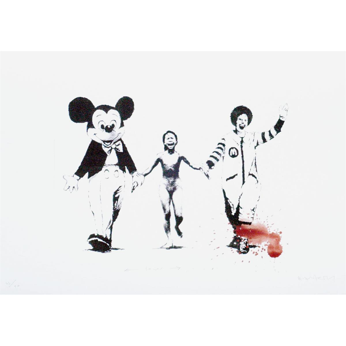 Can't Beat The Feeling (Serpentine Edition) by Banksy