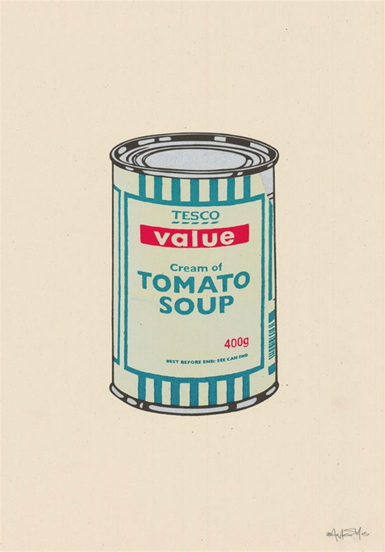 Soup Can (Mint/Emerald/Cherry By Banksy