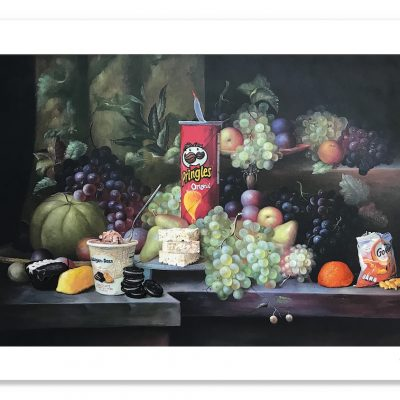 Calorie Composition II with Halloween Globall (1)