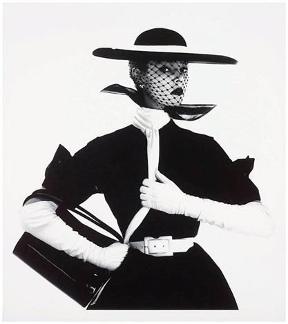 Fashion With Handbag B by Irving Penn