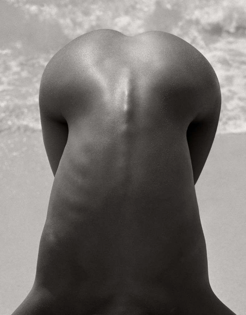 Female Nude Detail by Herb Ritts
