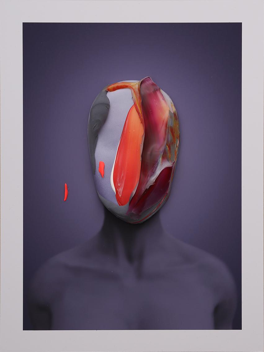 Portrait In Blue No. 2 by Fabio La Fauci