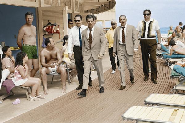 Frank Sinatra on the Boardwalk by Terry O'Neill