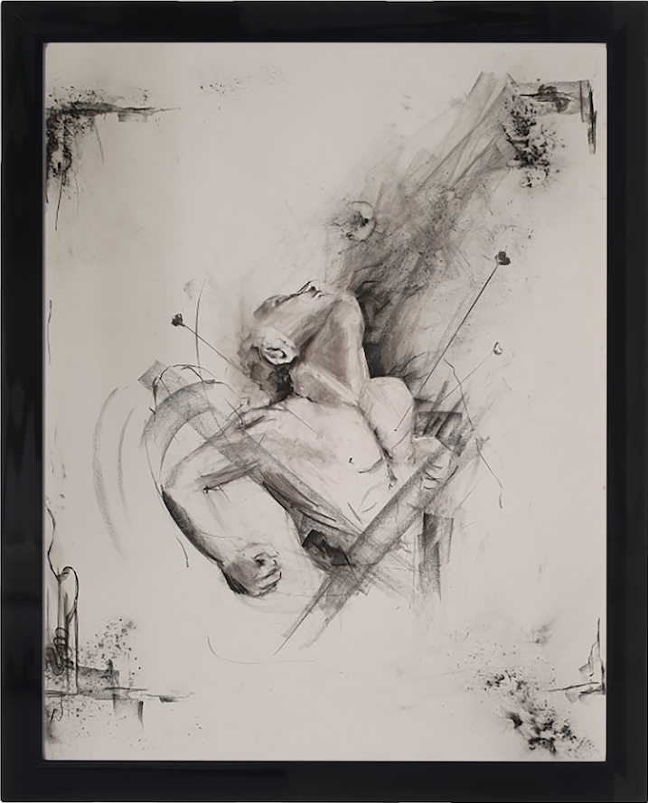 Untitled Charcoal Study I by Chris Rivers