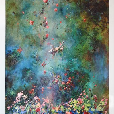 Pastel Garden by Chris Rivers