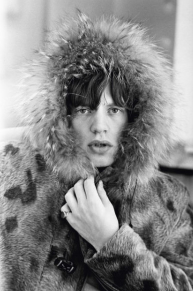 Mick in a Fur Parka by Terry O'Neill
