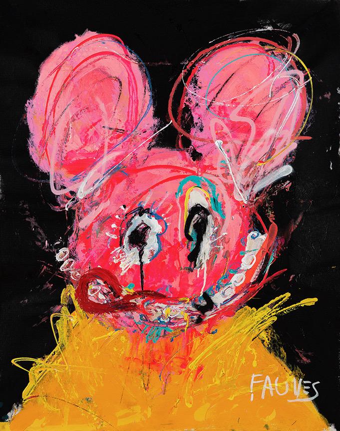 Mickey On Lettuce