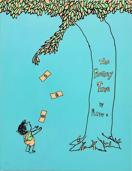 Mister E The Money Tree Light Blue