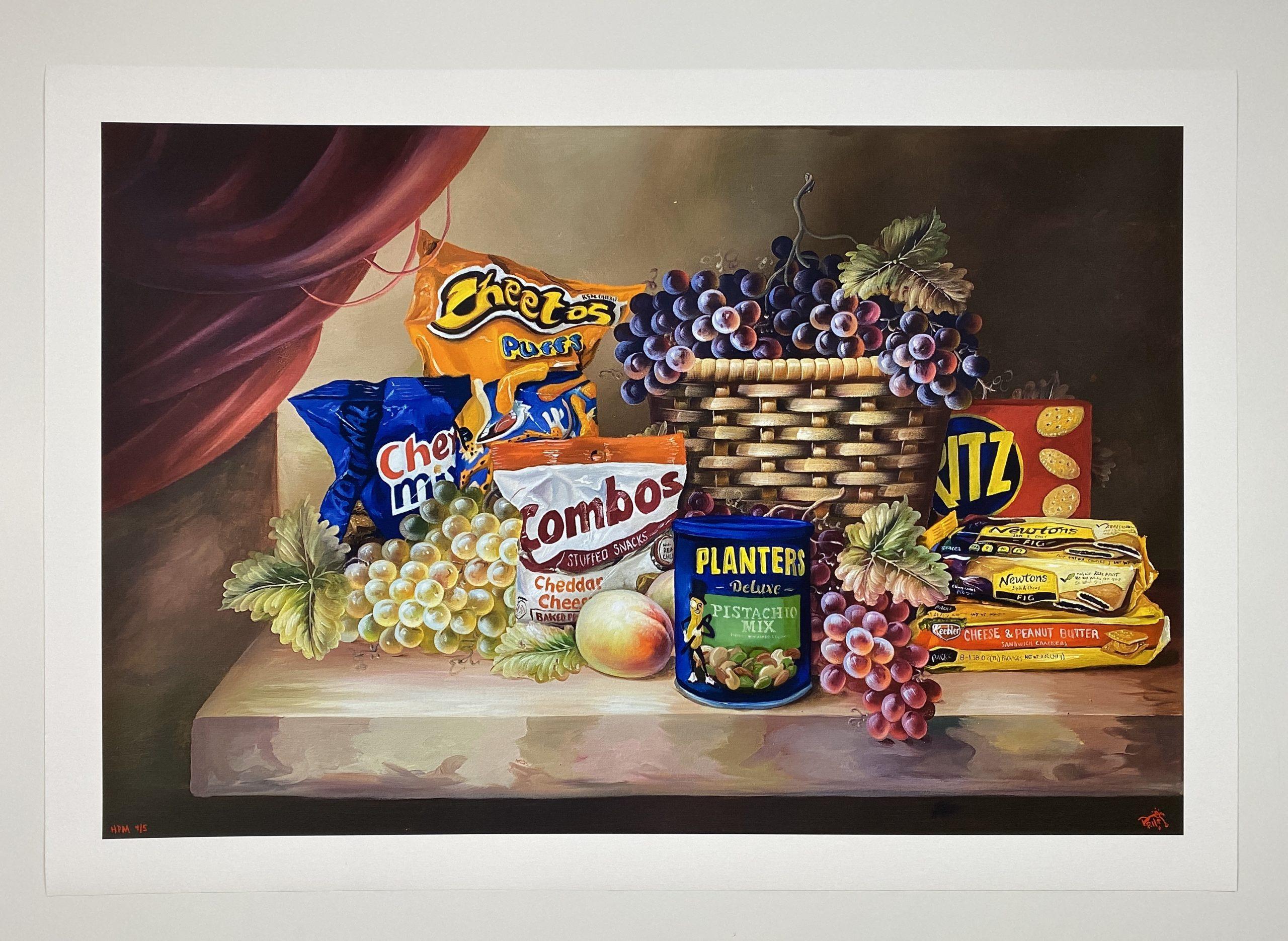 Shelf Life II (Pistachio Deluxe) by Dave Pollot