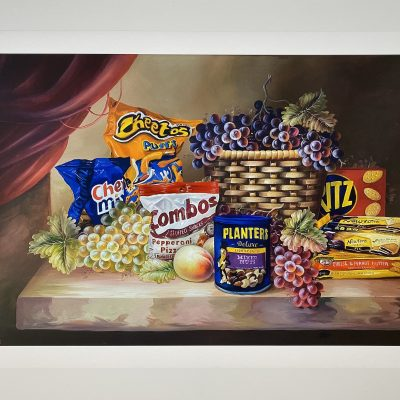 Shelf Life II (Pepperoni Pizza) by Dave Pollot