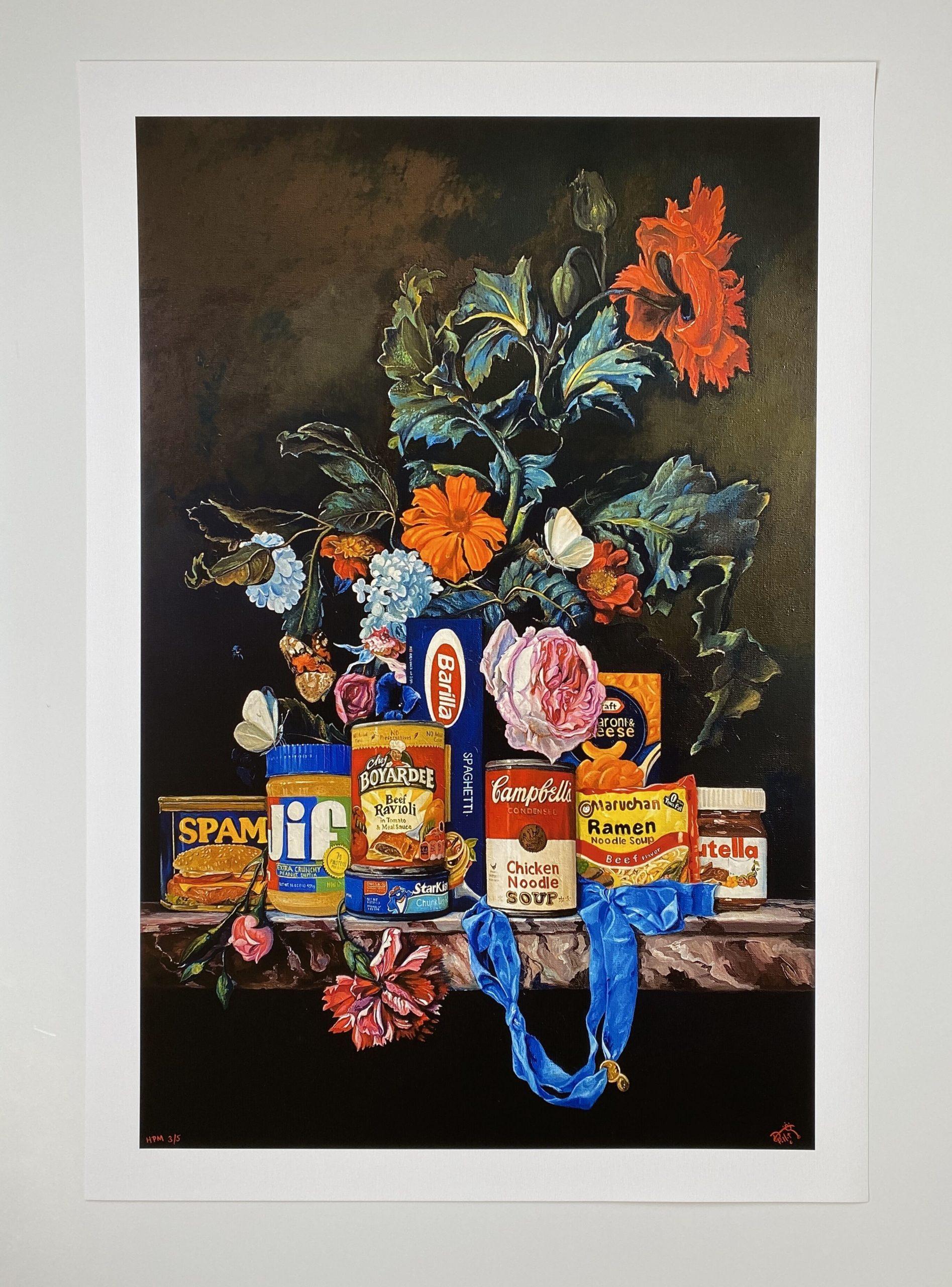 Shelf Life I (Beef Ramen) by Dave Pollot