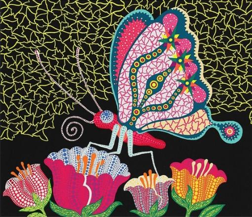 Flower Garden by Yayoi Kusama