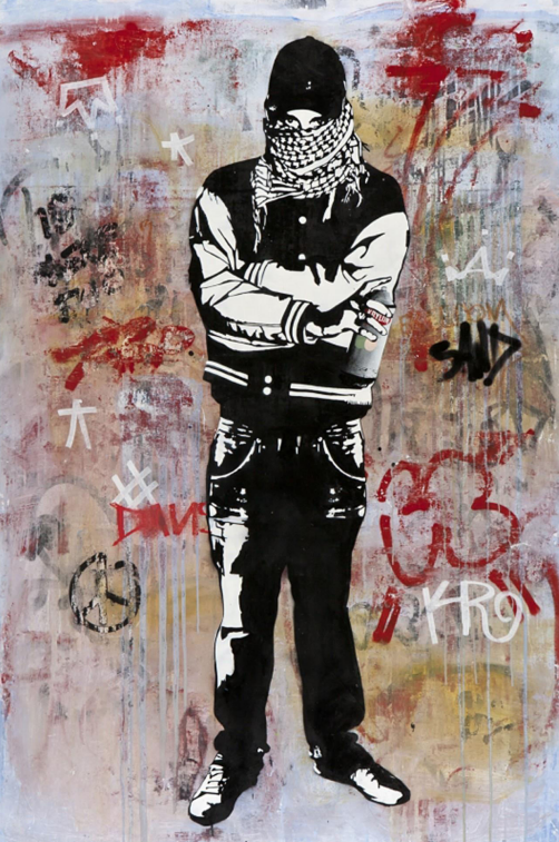Can't Kill The Revolution by Blek Le Rat