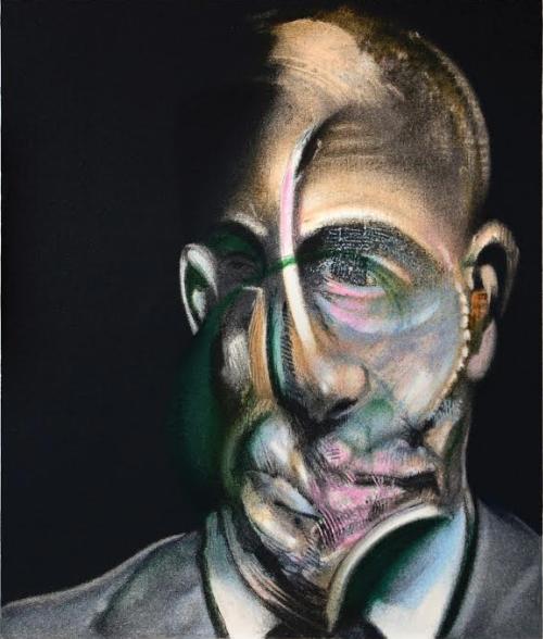 Portrait of Michel Leiris from Miroir de la Tauromachie by Francis Bacon