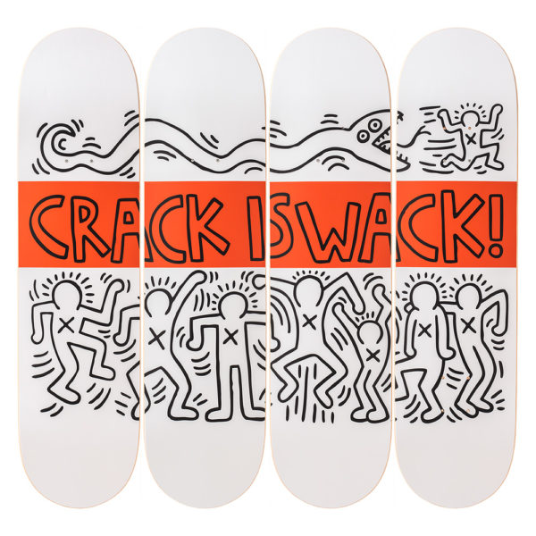 The Skateroom x Keith Haring: Crack is Wack
