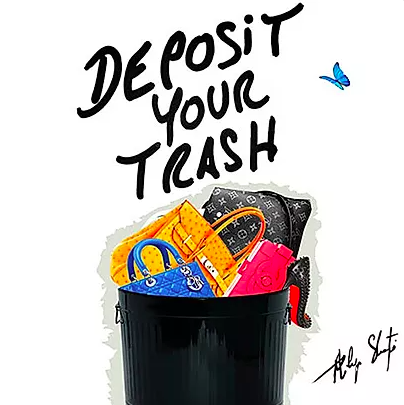 Deposit Your Trash by Philippe Shangti