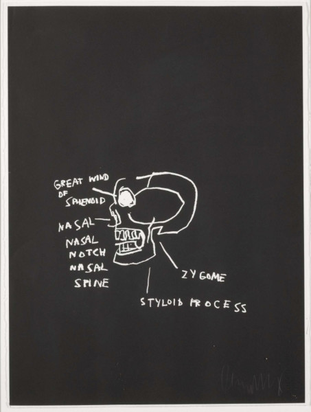 Great Wind of Sphenoid by Jean-Michel Basquiat