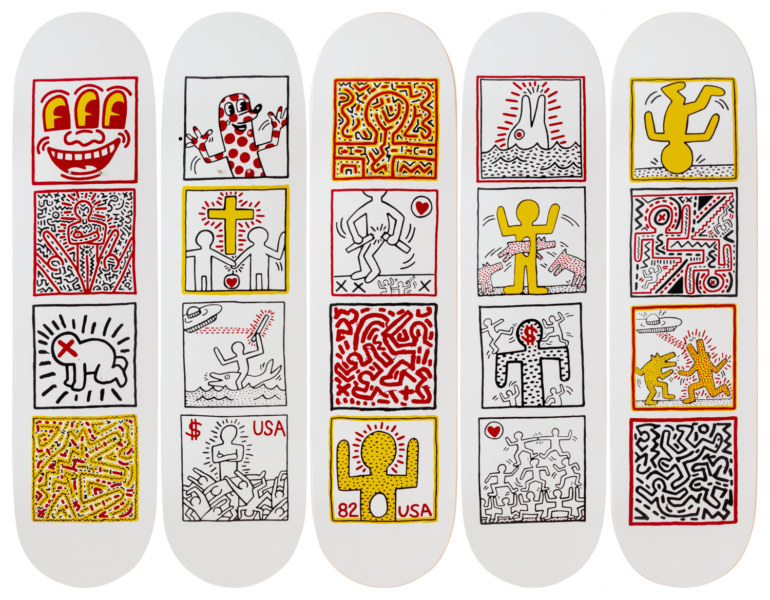 The Skateroom x Keith Haring: One Man Show
