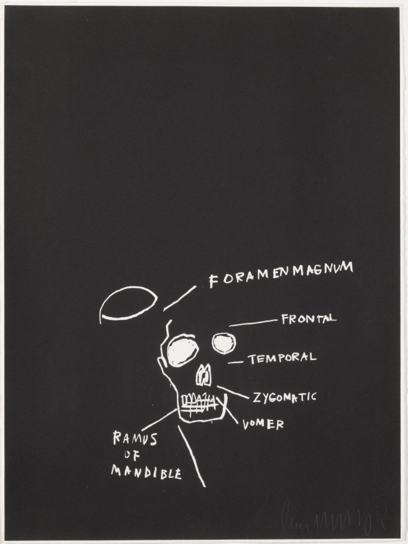 Ramus of Mandible by Jean-Michel Basquiat