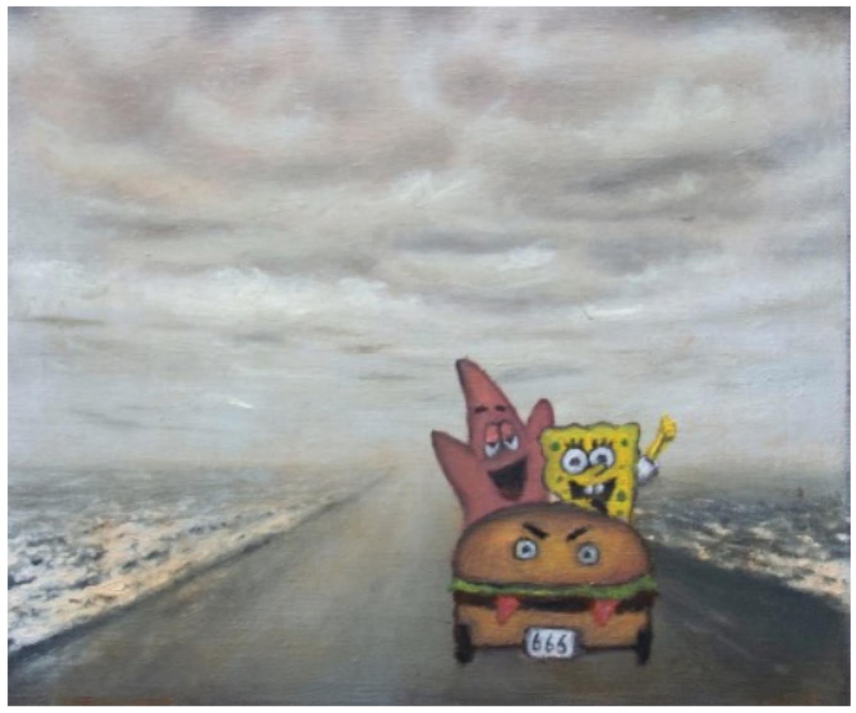 The Getaway by Tim Gatenby