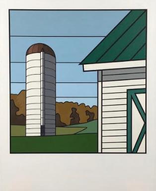 Todd Koelmel Barn Polaroid 1