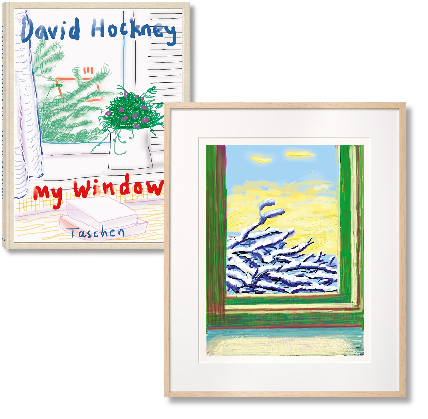 My Window, Art Edition 'No. 610' by David Hockney