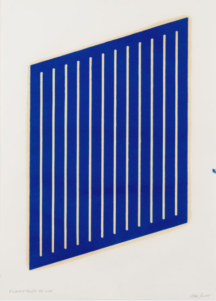 Untitled (5-L) by Donald Judd