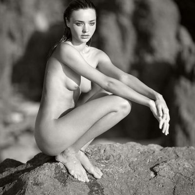 Miranda Kerr on Necker Island by Russell James